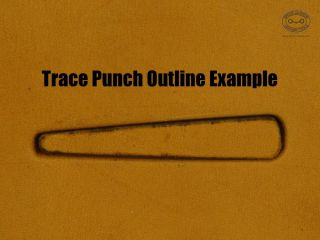 Trace punch.outline example