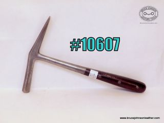 10607 – CS Osborne #5 hammer with good clause – $75.00