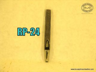 RP-24 – Lowentraut #10 round punch – $15.00