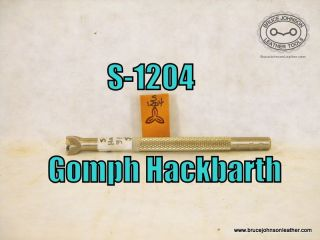 S-1204 – Gomph Hackbarth propeller stamp 3-8 inch – $35.00