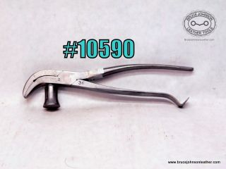 10590 – Whitcher #2 lasting pliers, 3/8 inch wide – $45.00