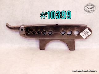 10399 – unmarked eight hole rein rounder vise Mount – 3/16 – 9/16 inch – $175.00.