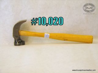 10,020 – Crispin #2 dimpled  face hammer, excellent condition unused – $65.00