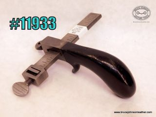 11933 – CS Osborne Harrison marked cast metal draw gauge – $55.00