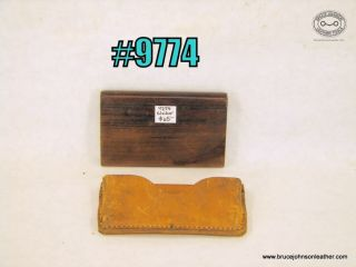 9774 – wood slicker with sheath – $65.00