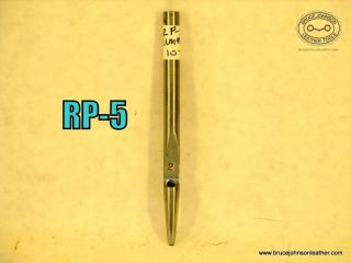 RP-5 – unmarked #2 round punch – $10.00