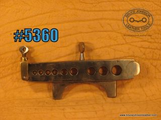 CS Osborne nine hole vise mount rein rounder with latch and top screw – $200.00