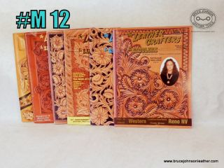 M12 – Leather Crafters Saddlers Journal, 2003 all pattern inserts included inside – $18.00