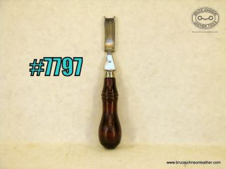 7797 – unmarked #9 French edger, 7/16 inch wide – $45.00