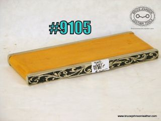 9105 – Horse Shoe Brand Tools benchtop swivel knife strop, beautiful on your bench! unused – $60.00