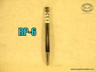 RP-6 – Unmarked #2 round punch – $10.00