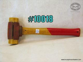 10018 - Chicago Rawhide 3 pound mallet with new faces - $60.00