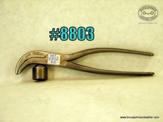 8803 – union #3 3/8 inch wide lasting pliers – $45.00