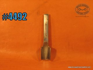 CS Osborne  3/4 inch round end punch