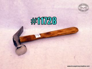 11728 – CS Osborne cobbler hammer, polished face  -$45.00