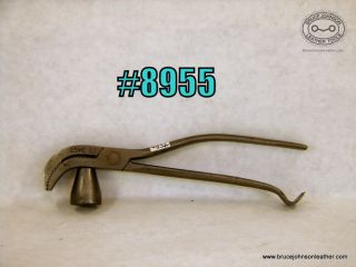8955 – USMC #53 lasting pliers, 1/2 inch wide jaws – $45.00