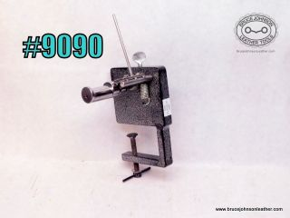9090 – unmarked string and lace cutter- beveler. Clamps on bench, more views to follow. - $325.00