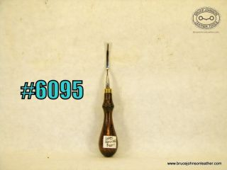 6095 – CS Osborne #0 French edger, outstanding condition and rare size – $100.00