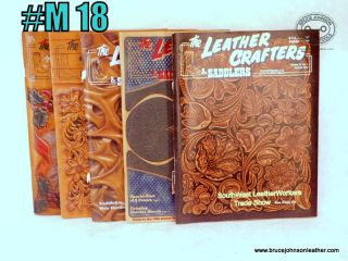 M18 – Leather Crafters Saddlers Journal 2012 missing September October issue all pattern inserts included inside – $15.00