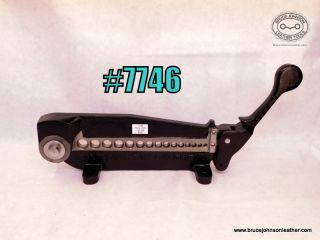 7746 – Randall 15 hole rein rounder, 1/8 – 5/8 inch – $500.00