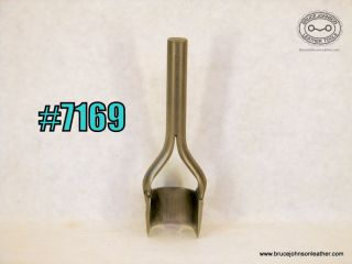 7169 – CS Osborne 1-1/2 inch arch round end punch – $35.00