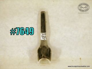 7649 – England 1 inch English point punch – $70.00