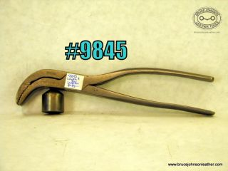 9845 – union #3 3/4 inch wide lasting pliers – $45.00