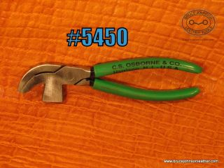 CS Osborne lasting pliers, new condition – $25.00