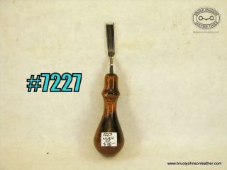 7227 – Weaver #4 French edger – $35.00