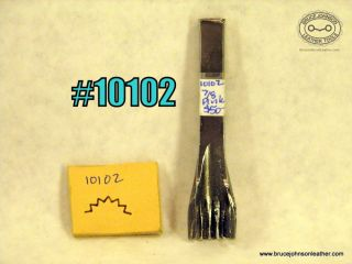 10102 – unmarked 7/8 inch pinking punch – $50.00