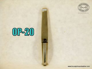 OP-20 – England marked #23 7X5 MM oval punch – $35.00