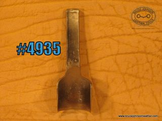 CS Osborne 1-1/2 inch round end punch – $70.00