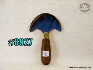 8297 - Unmarked 4 inch wide round knife - $80.00