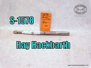 S-1578 – Ray Hackbarth #120 1-16 X 1-4 inch checkered backgrounder – $50.00
