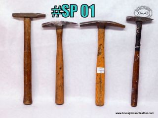 SP 01 – four tack hammers good solid heads and handles – $25.00