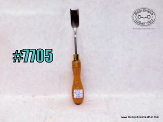 7705 – unmarked English style skirt shave- French edger, 1-to inch wide – $35.00