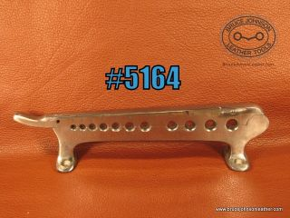 CS Osborne 11 hole bench mount rein rounder – $275.00