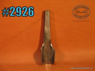 HF Osborne 1 inch round end punch