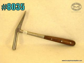 8035 – CS Osborne #5 tack hammer with good claws – $75.00