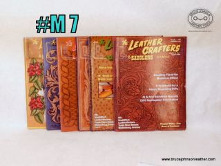 M7 – Leather Crafters Settlers Journal 2009 set, all pattern inserts intact inside – $18.00