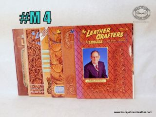 M4 – Leather Crafters Saddlers Journal – 1997 set of patterns are included inside – $18.00