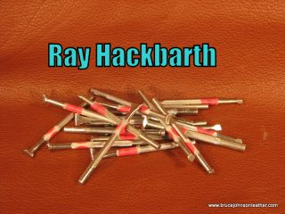 Group photo of some original Ray Hackbarth stamps. They are individually listed on the carving and stamping tool page