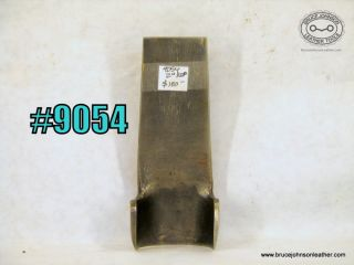 9054 – unmarked 2 inch round end punch – $100.00