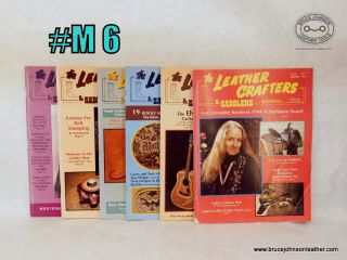 M6 – Leather Crafters Saddlers Journal 1995 set,.- $18.00