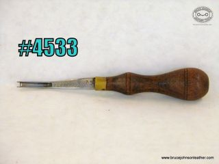 4553 – Schwarz #2 French edger – $40 00