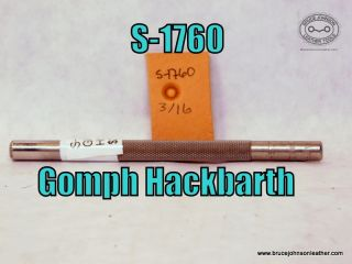 S-1760 – Gomph Hackbarth lined seed, 3-16 inch – $30.00